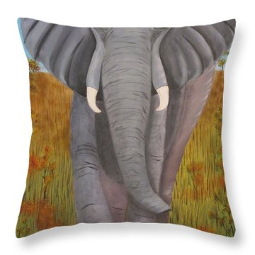 Time To Move Throw Pillow by Tim Townsend