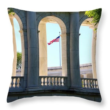 Time To Reflect Throw Pillow by Patti Whitten