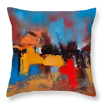Time To Time Throw Pillow