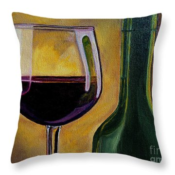 Time To Unwind Throw Pillow by Julie Brugh Riffey
