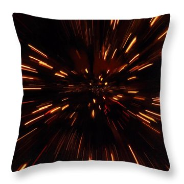 Time Travel Throw Pillow by Dan Sproul