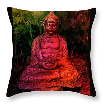 Timeless Buddha Throw Pillow