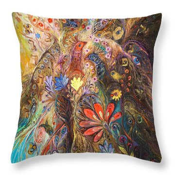 Timeless Characters II Throw Pillow by Elena Kotliarker