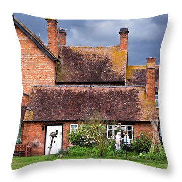 Timeless Throw Pillow by Keith Armstrong