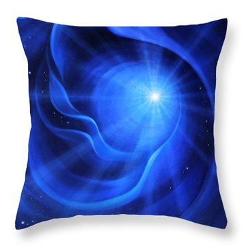 Timeless Presence Throw Pillow