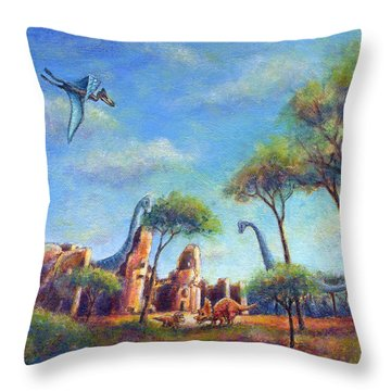 Timeless Throw Pillow by Retta Stephenson