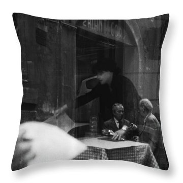 Timeless Rome Throw Pillow by Becky Kozlen
