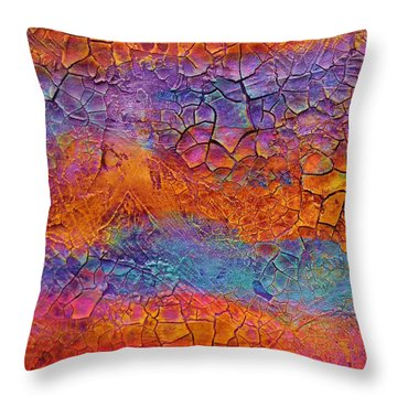 Timeline 1 Throw Pillow