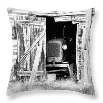 Time's Passing Throw Pillow by Heiko Koehrer-Wagner
