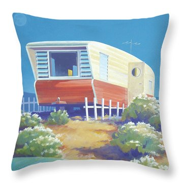 Timetraveler Throw Pillow