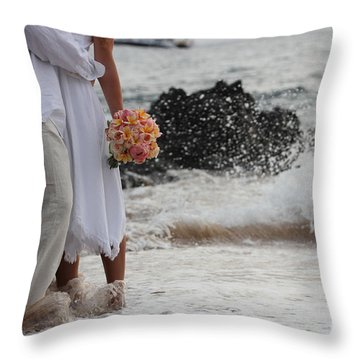 Timing Is Everything Throw Pillow