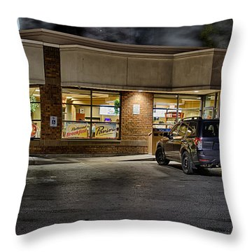 Timmy's At Night Throw Pillow