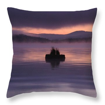 Timothy Lake Serenity Throw Pillow