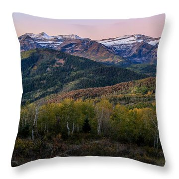 Timp First Light Throw Pillow