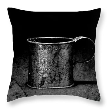 Tin Cup Chalice Throw Pillow