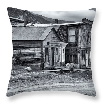 Tin Cup Main Street Throw Pillow