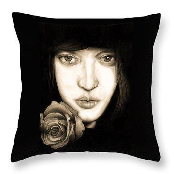 Tina Ayres Throw Pillow