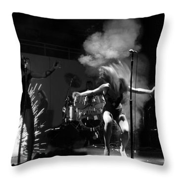 Tina Turner 1978 Throw Pillow