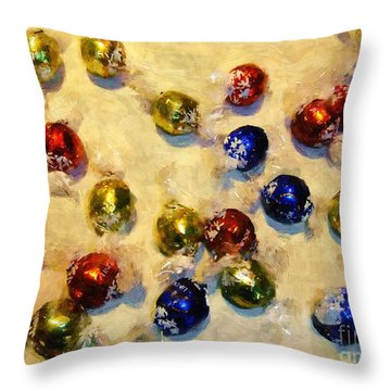 Tinfoiled Truffles Throw Pillow by RC deWinter