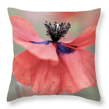 Tiny Dancer Throw Pillow by Colleen Williams