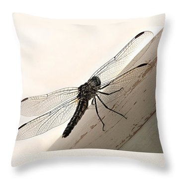 Tiny Magnificence  Throw Pillow