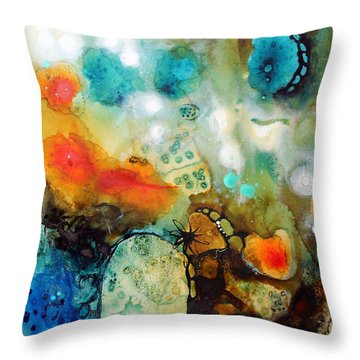 Tiny Universes Throw Pillow
