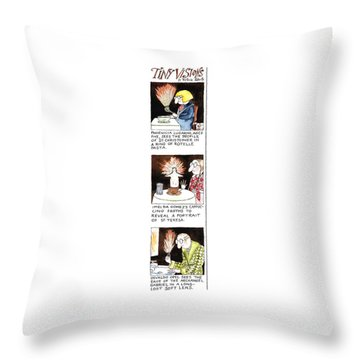 Tiny Visions Throw Pillow