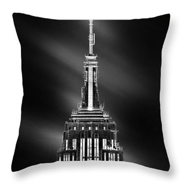 Tip Of The World Throw Pillow