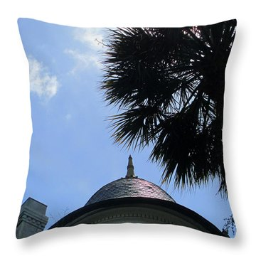 Tip Top 2 Meeting Street Throw Pillow by Randall Weidner
