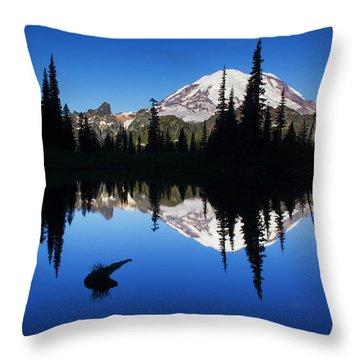 Tipsoo Sunrise Throw Pillow by Mark Kiver