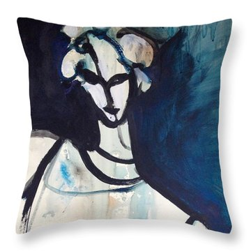 Tir Na Mban Throw Pillow by Anna Elkins