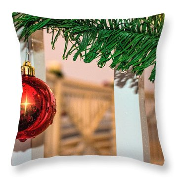 Tis' The Season Throw Pillow by Brian Wright