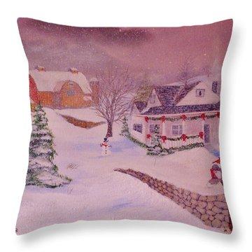 Tis The Season Throw Pillow by Rich Fotia
