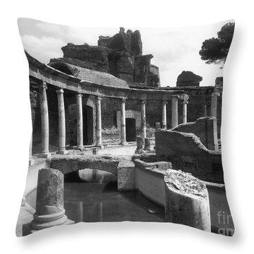 Tivoli Hadrian's Villa Throw Pillow by Granger