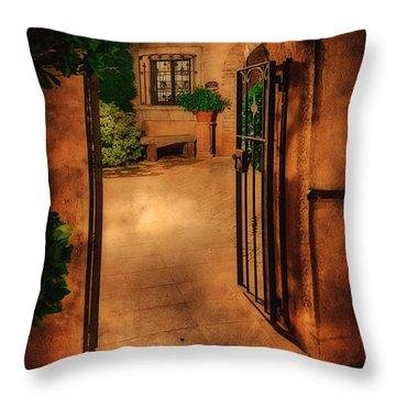 Tlaquepaque Throw Pillow
