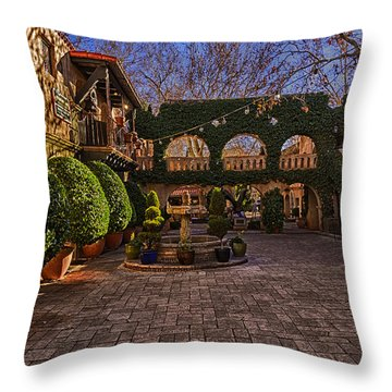 Tlaquepaque Village No.1 Throw Pillow