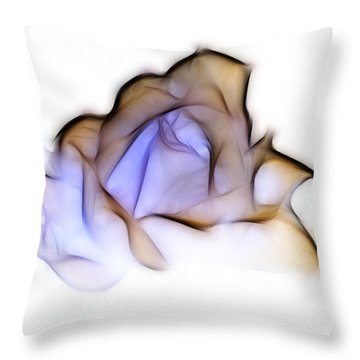 To A Rose Throw Pillow