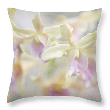 To Dream A Dream Throw Pillow by Jenny Rainbow