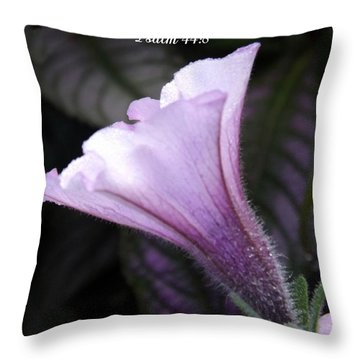 To God Give The Glory Throw Pillow