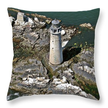 To Light The Graves Throw Pillow
