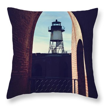 To Light The Way Throw Pillow by Laurie Search