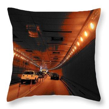 To Queens Throw Pillow by John Schneider