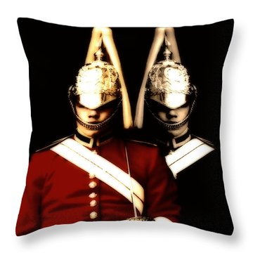Throw Pillow featuring the digital art I See Double  by Fine Art By Andrew David