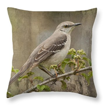 To Still A Mockingbird Throw Pillow