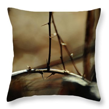 To Taste The Earth Throw Pillow by Rebecca Sherman