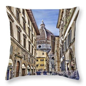 To The Duomo Throw Pillow