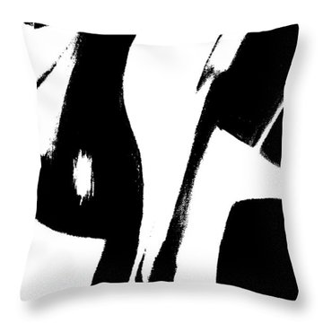 To The Good Life Throw Pillow by Lisa Kaiser