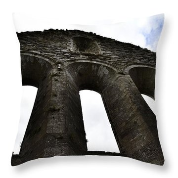Open To The Heavens Throw Pillow by Nadalyn Larsen