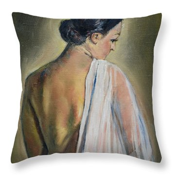 To The Shower Throw Pillow