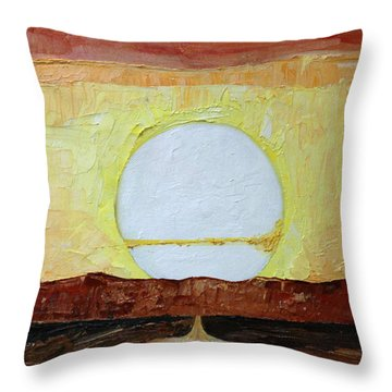 To The Sun Throw Pillow